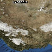 Map of Lycaonia