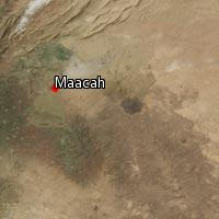 Map of Maacah