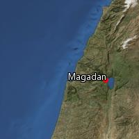 (Map of Magadan)