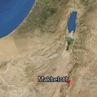 (Map of Makheloth)