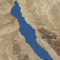 Map of Massah
