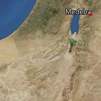 (Map of Medeba)