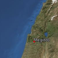 Map of Megiddo