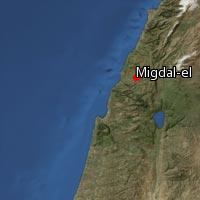 (Map of Migdal-el)