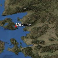 (Map of Mitylene)