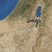 Map of Moladah