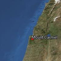 Map of Mount Carmel