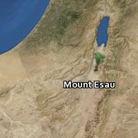 Map of Mount Esau