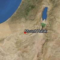 Map of Mount Halak