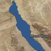 (Map of Mount Horeb)