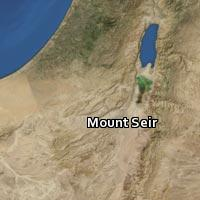 (Map of Mount Seir (1))