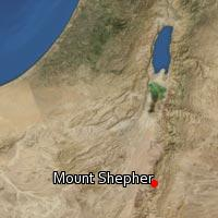 Map of Mount Shepher