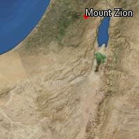 (Map of Mount Zion)