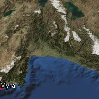 Map of Myra