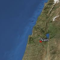 (Map of Nain)