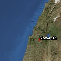 (Map of Nazareth)