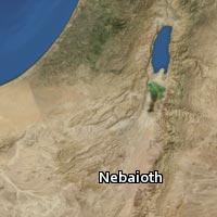 Map of Nebaioth