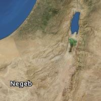 Map of Negeb