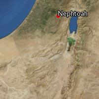 Map of Nephtoah