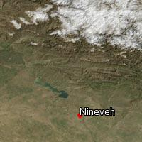 Map of Nineveh