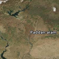 Map of Paddan-aram