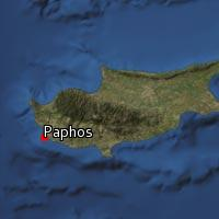 Map of Paphos