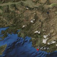 Map of Patara