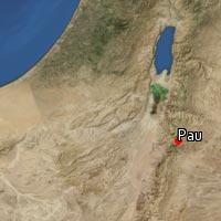 Map of Pau