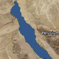 Map of Pelusium