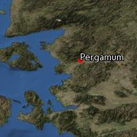 Map of Pergamum