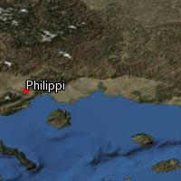 Map of Philippi