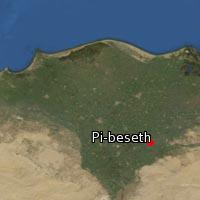 Map of Pi-beseth