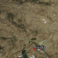 Map of Pisidia