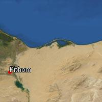 (Map of Pithom)