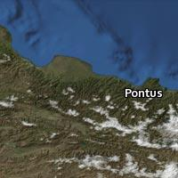 Map of Pontus
