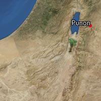 Map of Punon