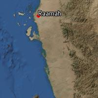 Map of Raamah