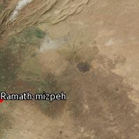 (Map of Ramath-mizpeh)