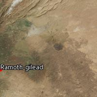 Map of Ramoth-gilead