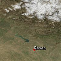 Map of Resen