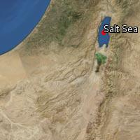 Map of Salt Sea
