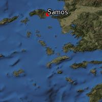 Map of Samos