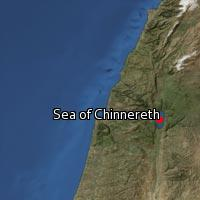 (Map of Sea of Chinnereth)