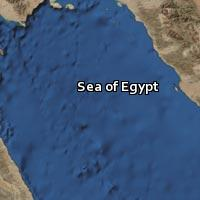 Map of Sea of Egypt