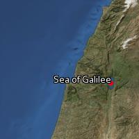 (Map of Sea of Galilee)