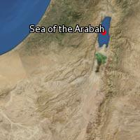 (Map of Sea of the Arabah)
