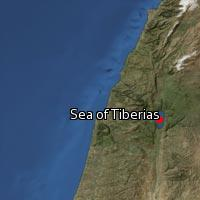 (Map of Sea of Tiberias)