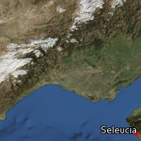 Map of Seleucia