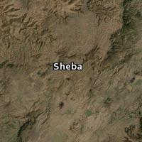(Map of Sheba)
