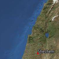 Map of Shechem